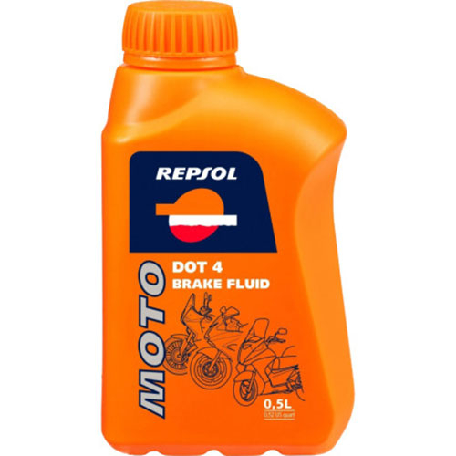 Lichid de frana Repsol Moto DOT 4 Brake Fluid - 500 ml 0