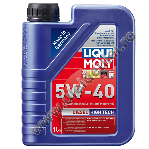 Liqui Moly Diesel High Tech 5W40 - 1 Litru 0
