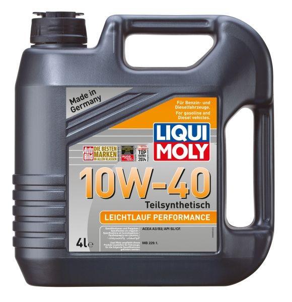 Liqui Moly Leichtlauf Performance 10W-40 - 4 Litri 0