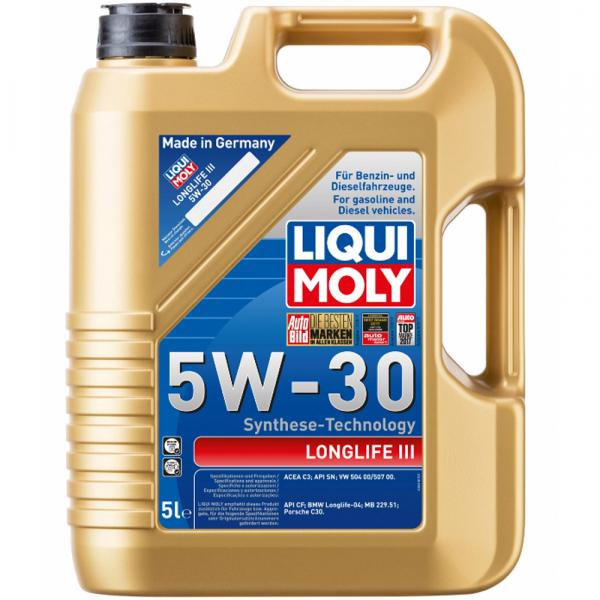 Liqui Moly Longlife III 5W30 - 5 Litri 0