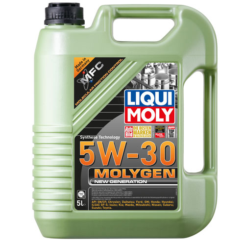 Liqui Moly Molygen 5W30 - 5 Litri 0
