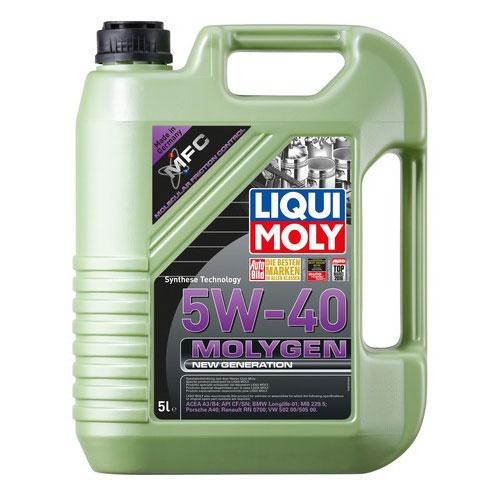 Liqui Moly Molygen 5W40 - 5 Litri 0