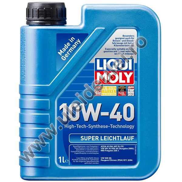 Liqui Moly Super Leichtlauf 10W40 - 1 Litru 0
