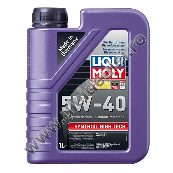 Liqui Moly Synthoil High Tech 5W40 - 1 Litru 0