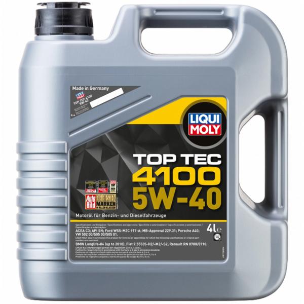Liqui Moly Top Tec 4100 5W40 - 4 Litri [0]