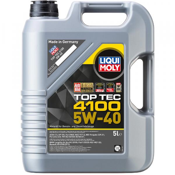 Liqui Moly Top Tec 4100 5W40 - 5 Litri 0