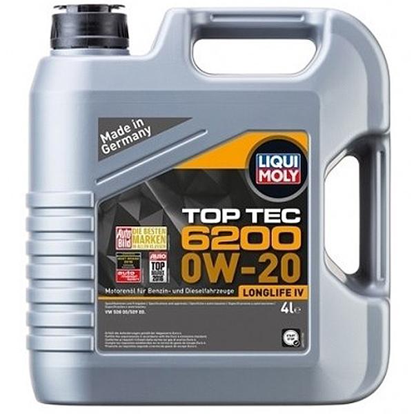Liqui Moly Top Tec 6200 0W20 - 1 Litru [0]
