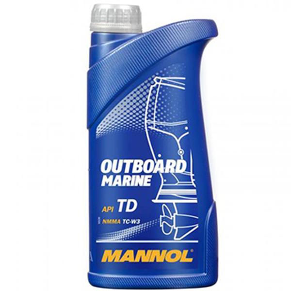 MANNOL Outboard Marine API TD TC-W3 - 1 Litru 0