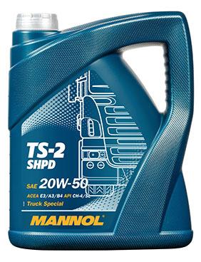 MANNOL TS-2 SHPD 20W-50 – 5 Litri 0
