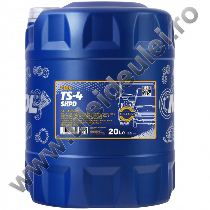 MANNOL TS-4 SHPD 15W-40 - 20 Litri [0]