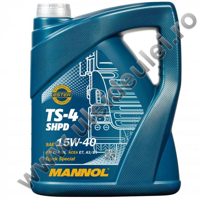 MANNOL TS-4 SHPD 15W-40 - 5 Litri [0]