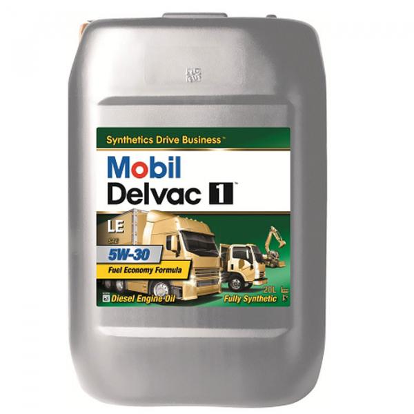 Mobil Delvac 1 LE 5W30 - 20 Litri 0