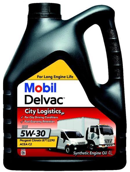 Mobil Delvac City Logistics P 5W-30 - 4 Litri 0