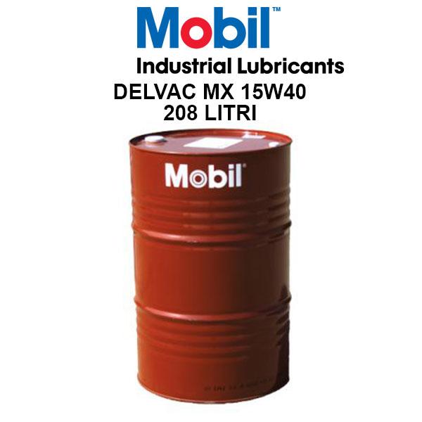 Mobil Delvac MX 15W40 - 208 Litri 0