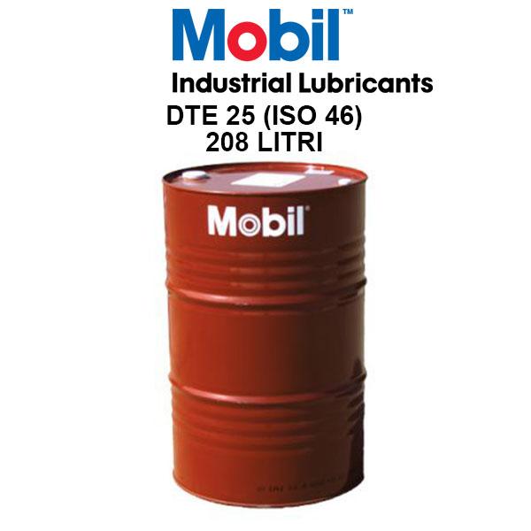 Ulei hidraulic Mobil DTE 25 - 208 Litri 0