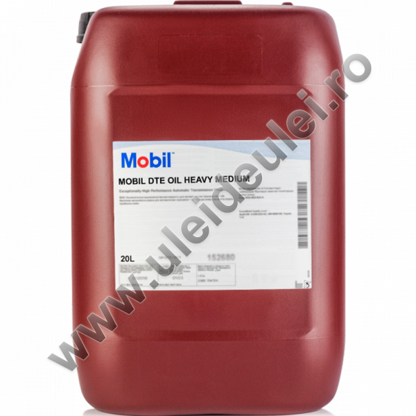 Mobil DTE Oil Heavy Medium - 20 Litri 0