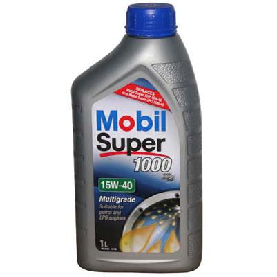 Mobil Super 1000 15W40 - 1 Litru 0