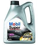 Mobil Super 2000 10W40 Turbo Diesel - 4 Litri 0