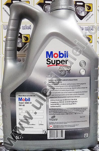 Mobil Super 3000 5W40 - 5 Litri 1