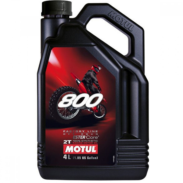 Motul 800 2T Factory Line Off Road - 4 Litri 0