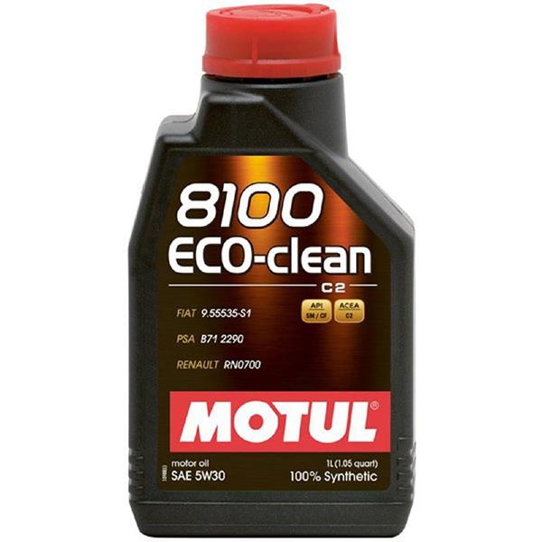 Motul 8100 Eco-Clean 5W30 - 1 Litru 0