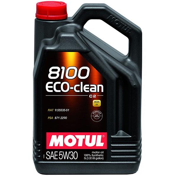 Motul 8100 Eco-Clean 5W30 - 5 Litri 0
