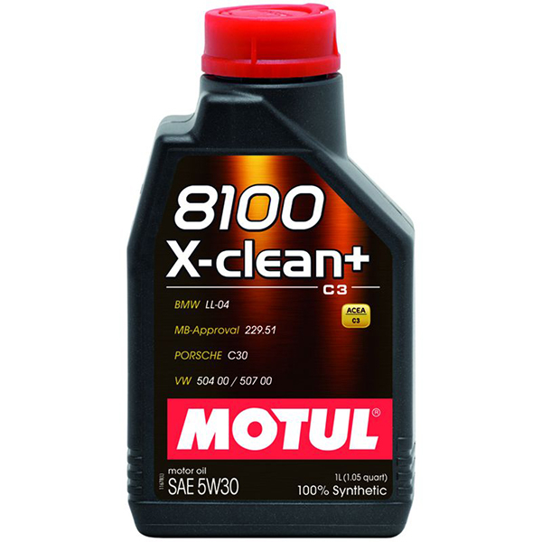 Motul 8100 X-Clean+ 5W30 - 1 Litru 0
