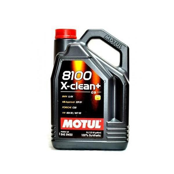 Motul 8100 X-Clean+ 5W30 - 5 Litri 0