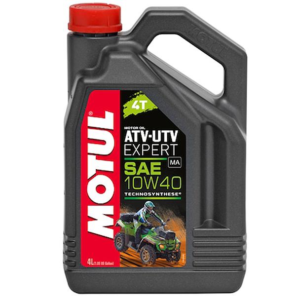 Motul ATV-UTV EXPERT 4T 10W40 - 4 Litri 0