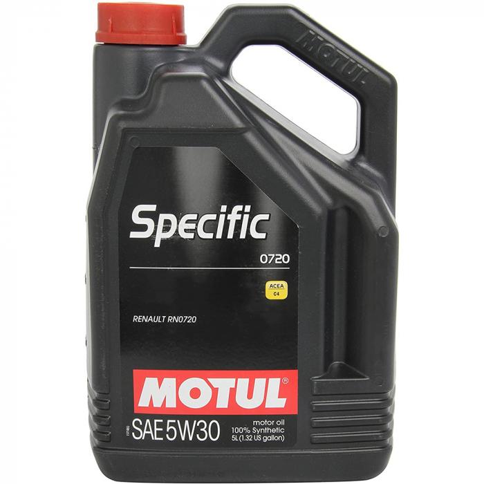 Motul Specific 0720 5W30 - 5 Litri 1
