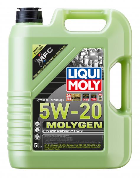 Liqui Moly Molygen 5W20 - 5 Litri 0