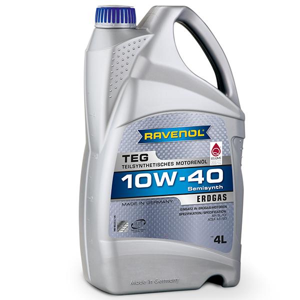 Ravenol TEG Gasmotorenol 10W40 - 4 Litri 0
