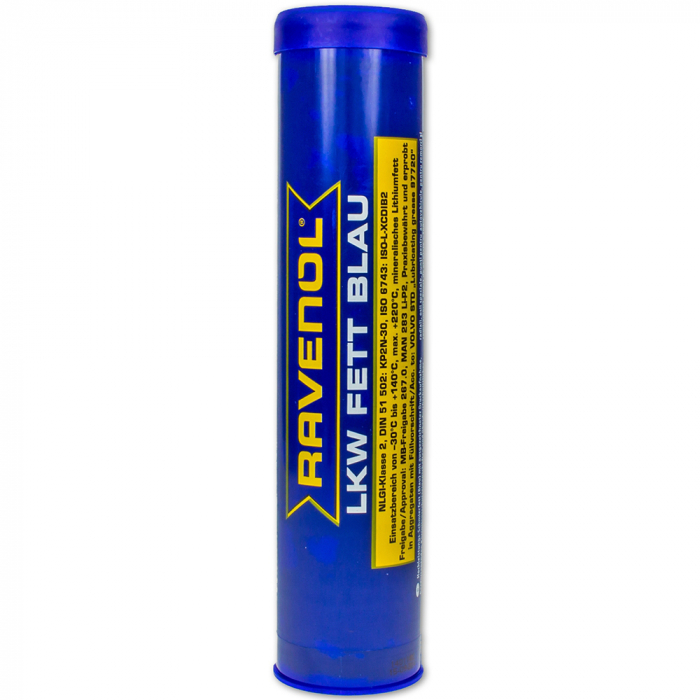 Vaselina speciala rulmenti Ravenol LKW Fett Blau - 400 gr [0]
