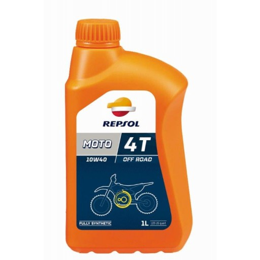 Repsol Moto Off Road 4T 10W40 - 1 Litru 0