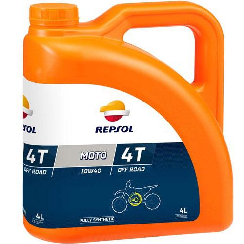 Repsol Moto Off Road 4T 10W40 - 4 Litri 0