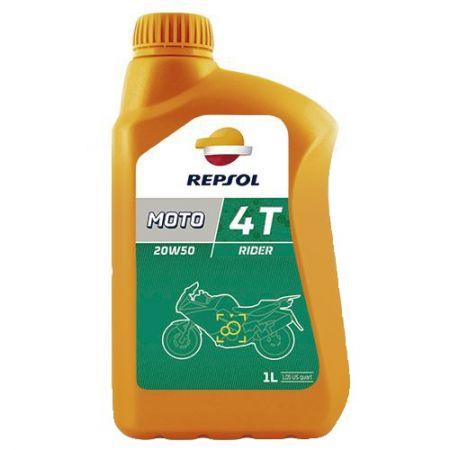 Repsol Moto Rider 4T 20W50 - 1 Litru 0