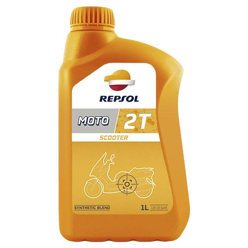 Repsol Moto Scooter 2T - 1 Litru 0