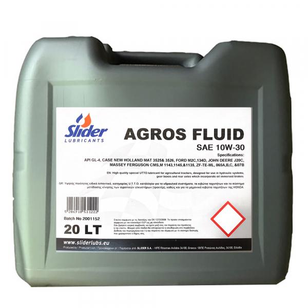 Slider Agros (Tractor Fluid) 10W30 - 20 Litri 0