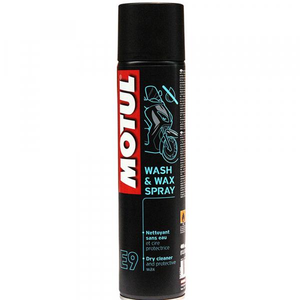 Spray curatare si lustruire Motul Wash&Wax E9 - 400 ml 0
