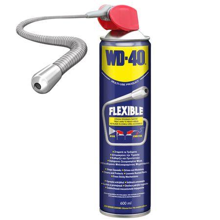 Spray lubrifiant multifunctional WD-40 Flexible - 600 ml 0