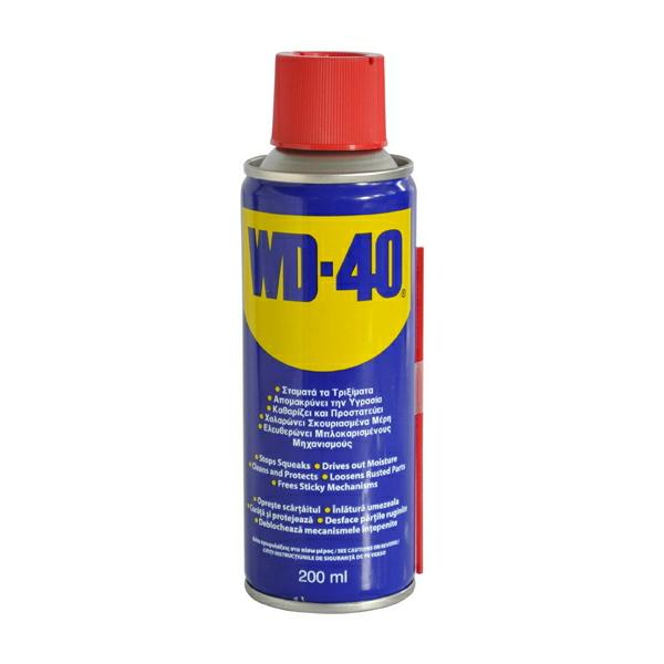 Spray lubrifiant multifunctional WD-40 - 200 ml [0]