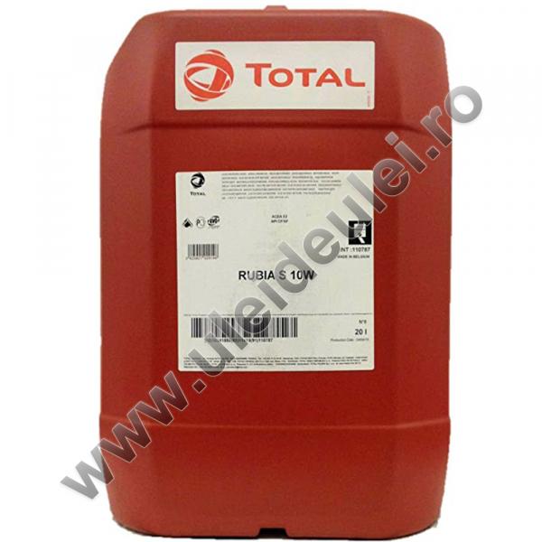 Total RUBIA S 10W - 20 Litri 0