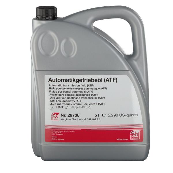 Ulei cutie viteze automata FEBI 29738 ATF galben - 5 L 0