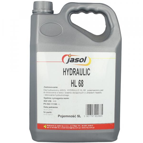 Ulei hidraulic Jasol Hydraulic HL 68 - 5 Litri 0