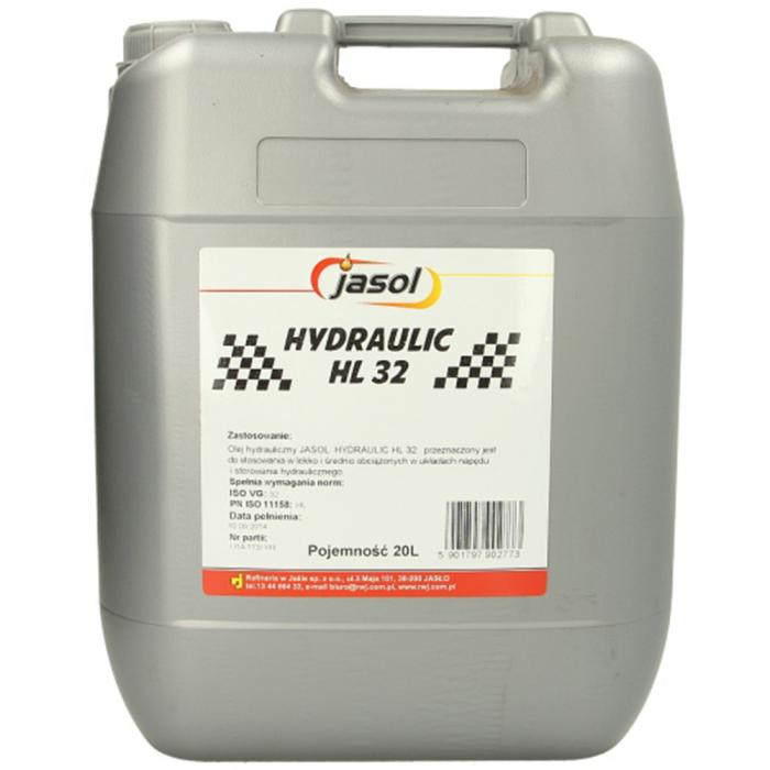Ulei hidraulic Jasol Hydraulic HL 32 - 20 Litri [0]
