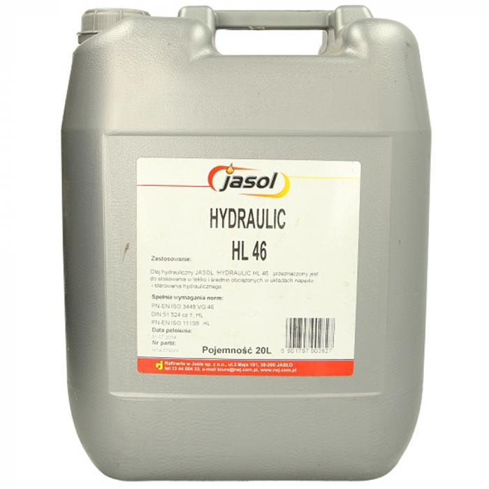 Ulei hidraulic Jasol Hydraulic HL 46 - 20 Litri [0]