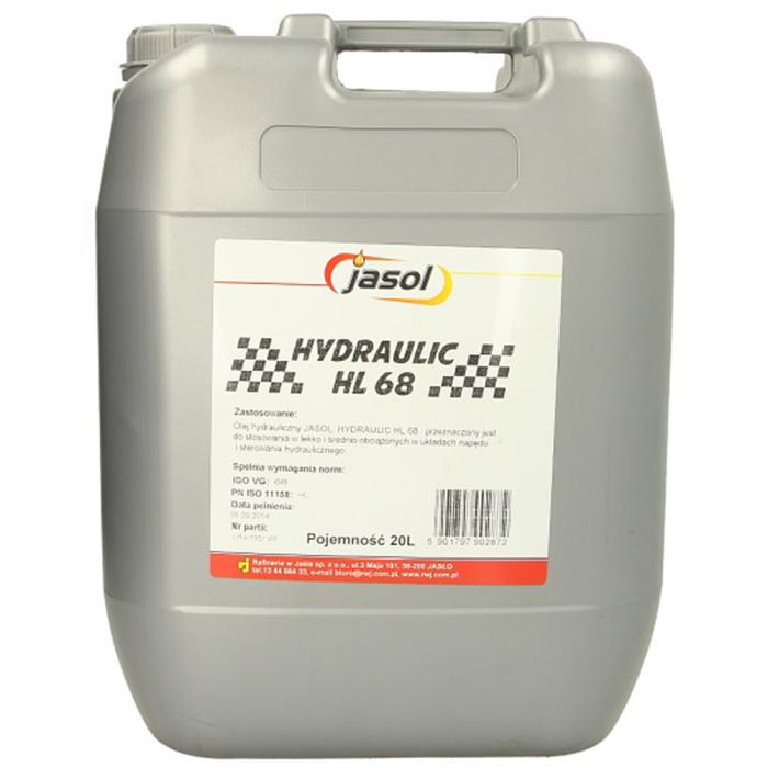 Ulei hidraulic Jasol Hydraulic HL 68 - 20 Litri 0