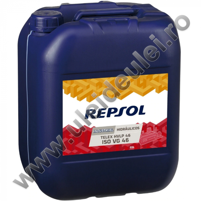 Ulei hidraulic Repsol Telex HVLP ISO VG 46 - 20 Litri [0]