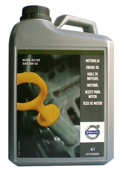 Ulei motor OE VOLVO 5W30 (31316300) - 4 Litri 0