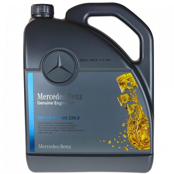 Ulei OE Mercedes 5W40 (229.3) - 5 Litri 0